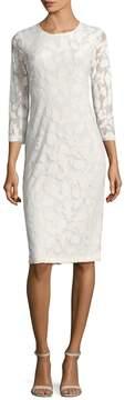 Shoshanna Women's Lace Crewneck Dress