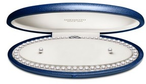 Mikimoto Women's Cultured Pearl Necklace & Stud Earring Set