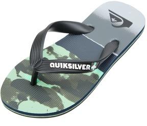 Quiksilver Boys' Molokai Blocked Resin Flip Flop 8167928