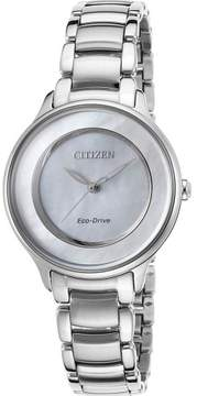 Citizen Womens Circle of Time Stainless Steel Watch