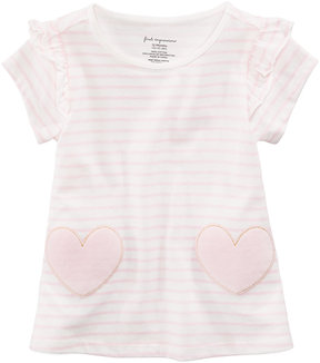 First Impressions Striped Hearts Cotton Tunic, Baby Girls (0-24 months), Created for Macy's