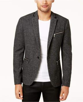 GUESS Men's Newham Mini-Check Sport Coat