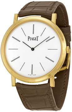 Piaget Altiplano Mechanical White Dial Men's Watch