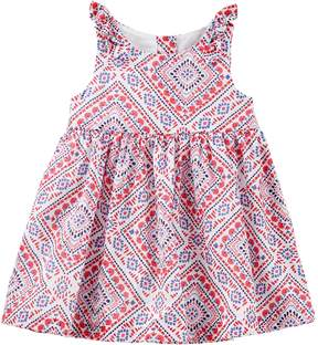 Osh Kosh Oshkosh Bgosh Baby Girl Bandana Print Dress