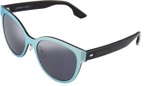 McQ Plastic Cat Eye Sunglasses