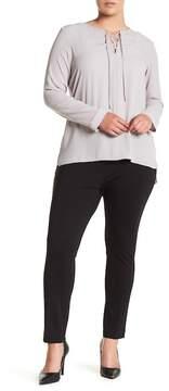 Atelier Luxe Narrow Leg Ponte Pants (Plus Size)