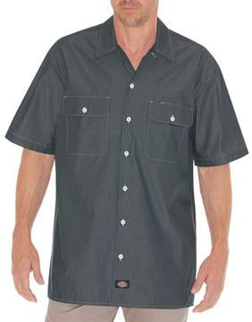 Dickies Men's Short Sleeve Chambray Shirt
