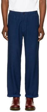 Blue Blue Japan Indigo Relax Trousers