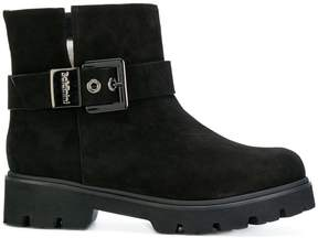 Baldinini buckled ankle boots