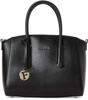 Furla Onyx Tessa Small Leather Satchel