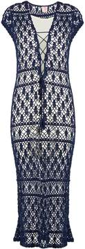 Anna Kosturova Aerin crochet maxi dress