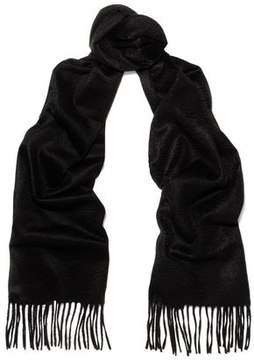 N.Peal Fringed Cashmere Scarf