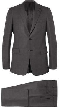 Prada Grey Slim-Fit Wool Suit