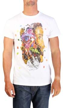 Christian Dior Men's Human Nature Print T-Shirt White
