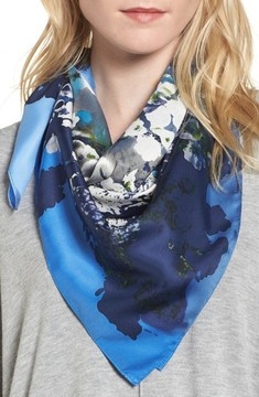 Vince Camuto Women's Midnight Garden Square Scarf