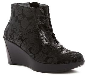 Naot Footwear Nadine Tres Jolie Snake Embossed Wedge Boot