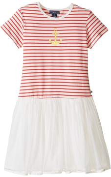 Toobydoo Short Sleeve Tulle Dress Girl's Dress