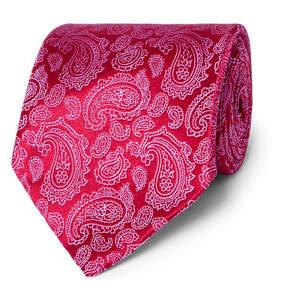 Charvet Paisley Silk-Jacquard Tie