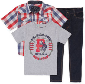 U.S. Polo Assn. 3-pc. Pant Set