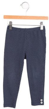 Rachel Riley Girls' Mid-Rise Polka Dot Leggings
