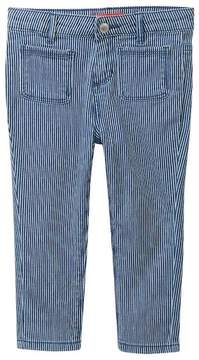 Joe Fresh Railroad Stripe Pants (Toddler & Little Girls)