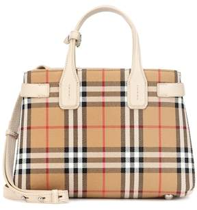 Burberry The Small Banner check tote