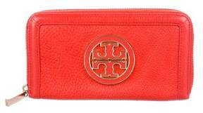 Tory Burch Amanda Zip Continental Wallet - RED - STYLE
