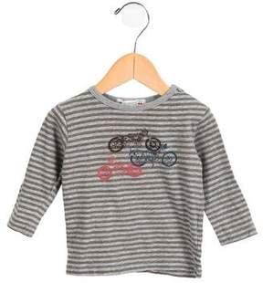 Bonpoint Boys' Printed Long Sleeve Top