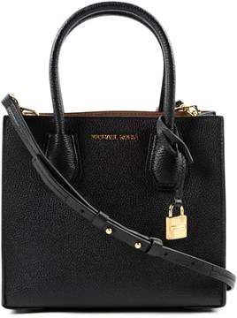 Michael Kors Medium Mercer Tote - BLACK - STYLE