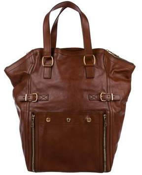 Saint Laurent Large Leather Hobo