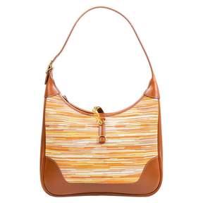 Hermes Trim cloth handbag - BROWN - STYLE