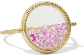 Aurelie Bidermann Chivor 18-karat Gold Sapphire Ring