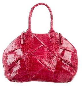 Nancy Gonzalez Crocodile Dome Bag