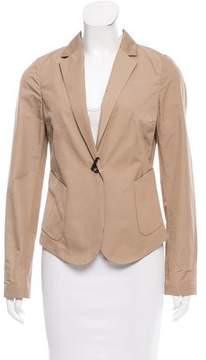 Calvin Klein Collection Peak-Lapel Button-Up Blazer w/ Tags