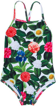 Oscar de la Renta Kids Flower Jungle swimsuit