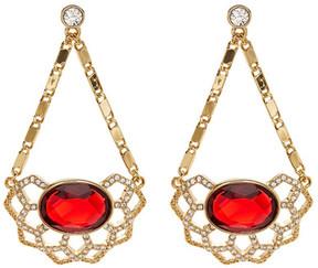 Carolee Openwork Chandelier Drop Earrings