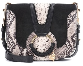 See by Chloe Hana Medium suede and leather shoulder bag