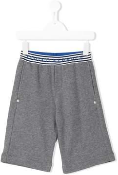 Versace embroidered logo waistband shorts