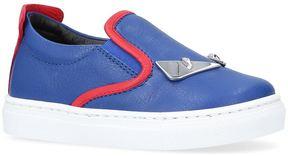 Fendi Monster Eyes Skater Shoes