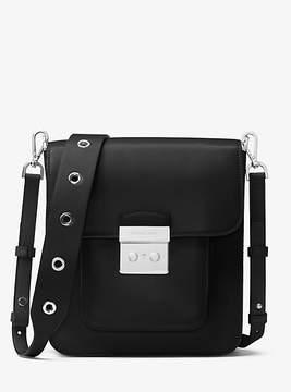 Michael Kors Sloan Editor Leather Messenger - BLACK - STYLE