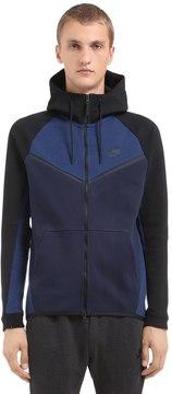 Nike Hooded Cotton Blend Sweatshirt
