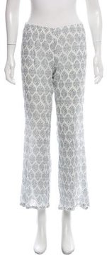 Eberjey Mid-Rise Flare Pants