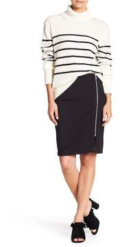 Cupcakes And Cashmere Jann Exposed Zip Pencil Skirt