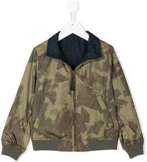 Woolrich Kids reversible jacket
