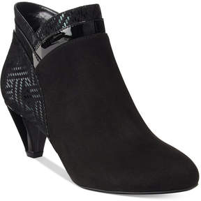 Karen Scott Cahleb Dress Booties, Created for Macy's Women's Shoes
