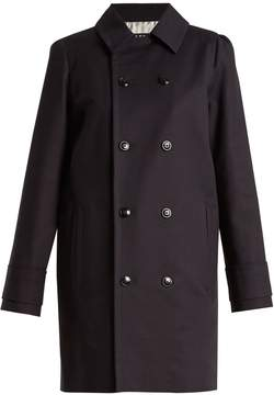 A.P.C. Marine double-breasted stretch-cotton coat