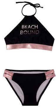 Gossip Girl Girl's Beach Bound Two-Piece Swimsuit