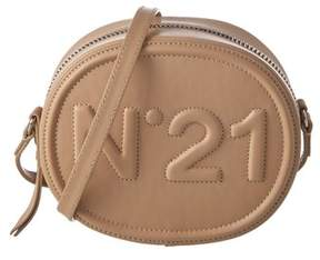 N°21 N21 Logo Leather Tambourine Crossbody.