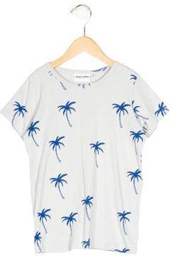 Mini Rodini Boys' Palm Tree Print Short Sleeve Shirt