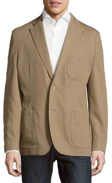 Kroon Solid Cotton Stretch Sportcoat